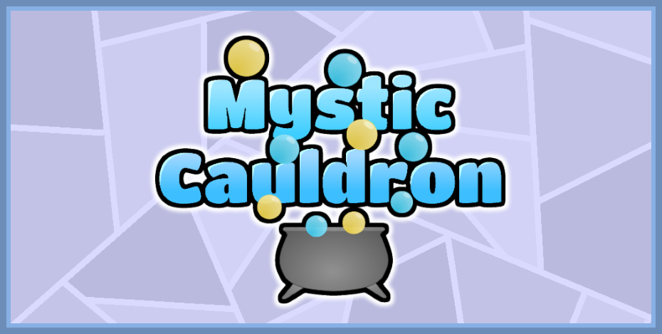 mystic cauldron game banner